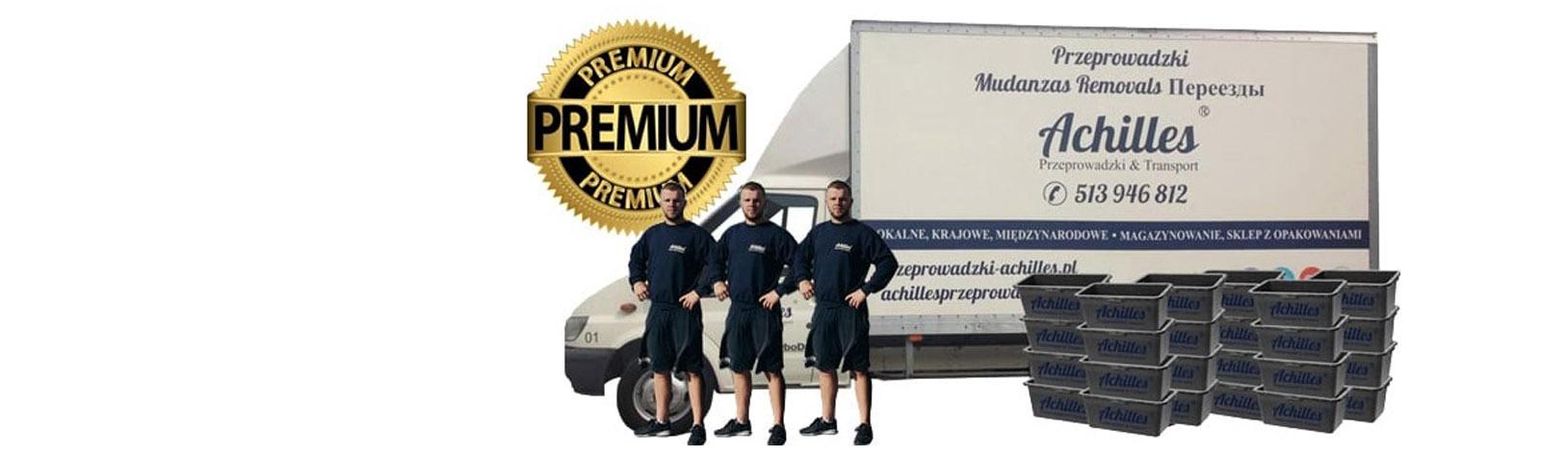 usługi transportowe premium
